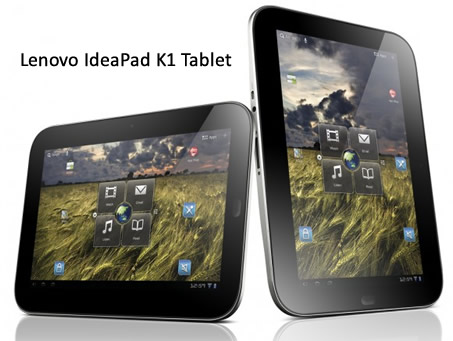Lenovo IdeaPad K1 Tablet