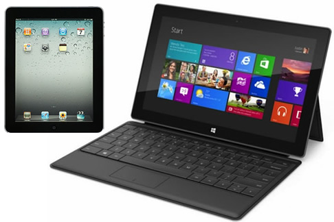 Can Microsoft Surface Tablet Beat iPad?
