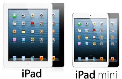 Apple iPad 4 - Apple iPad Mini